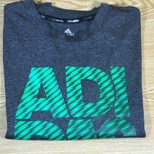 Adidas Logo Climatlite T-Shirt *NWOT*